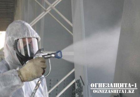 Огнезащитная обработка поверхностей