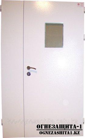 Противопожарные двери ДП-АСТРА-01 (02) (EI 60)Двупольная (двустворчатая):